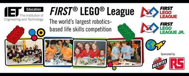 Frist Lego League banner