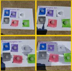 Colour on melting GSS