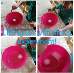 lifting ice with string exp GSS